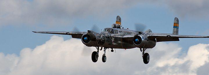 The B-25's Arrive