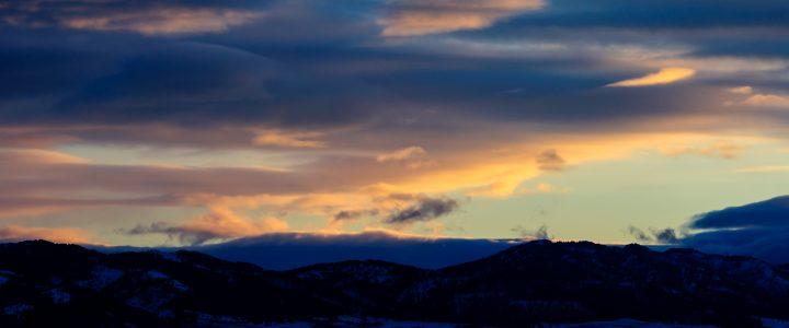 Sunset at Last